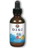 KAL D-3 K-2 5000 IU DropIns