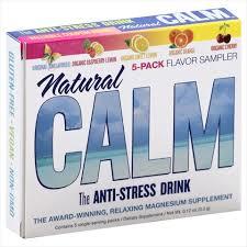 Natural Vitality Natural Calm Magnesium 5 Packet Flavor Sampler