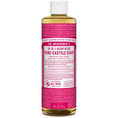Dr. Bronner's Rose Liquid Soap 16 oz