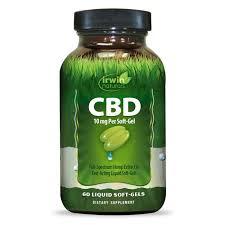 Irwin Naturals 10 mg CBD Softgels