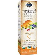Garden of Life Vitamin C Organic Spray Orange