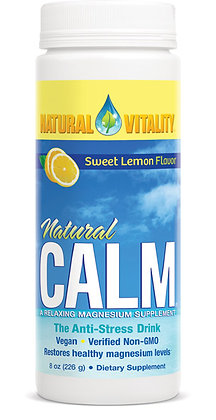 Natural Vitality Lemon Natural Calm Magnesium