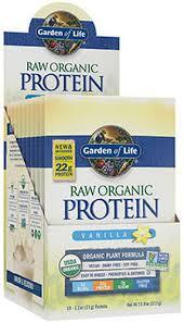 Garden of Life Raw Org Protein Packet Vanilla