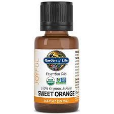 Garden of Life Organic Orange Essential Oil .5oz