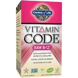 Garden of Life Vitamin Code Raw B-12