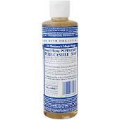 Dr. Bronner Peppermint Liquid Soap 8 oz