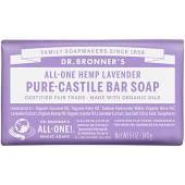 Dr Bronner Lavender Pure-Castile Bar Soap