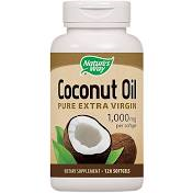Nature's Way Coconut Oil 1000 mg Softgels