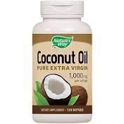 Nature's Way Coconut Oil 1000 mg Softgels