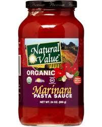 Natural Value Organic Marinara Pasta Sauce