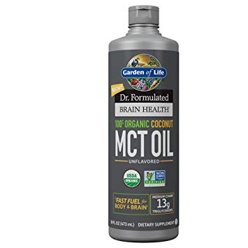 Garden of Life Dr. Form Brain Health MCT Oil