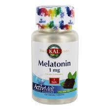 KAL Melatonin ActivMelt 1 mg