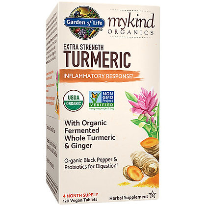 Garden of Life mykind Organics Turmeric Extra Strength