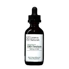 Lazarus Naturals Standard Potency CBD Tincture 900 mg