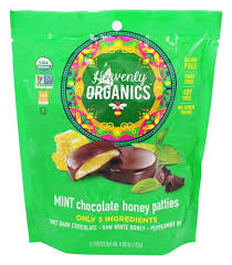 Heavenly Organics Organic Mint Chocolate Honey Patties