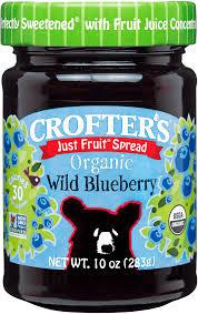 Crofter's Organic Wild Blueberry Spread