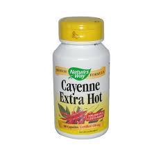 Nature's Way Cayenne Extra Hot 450 mg