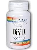 Solaray Dry D 1000 IU