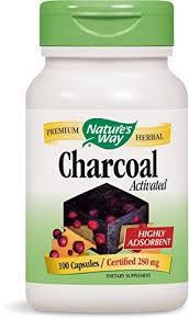 Nature's Way Activated Charcoal 280 mg