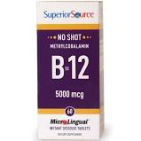 Superior Source No Shot Microlingual Methyl B-12 5000 mcg