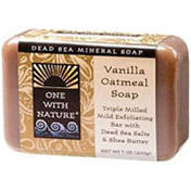 One with Nature Vanilla Oatmeal Bar Soap