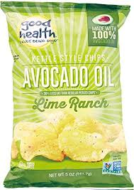 Good Health Lime Ranch Avocado Oil Potato Chips
