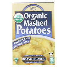 Edward & Sons Organic Roasted Garlic Mashed Potatoes