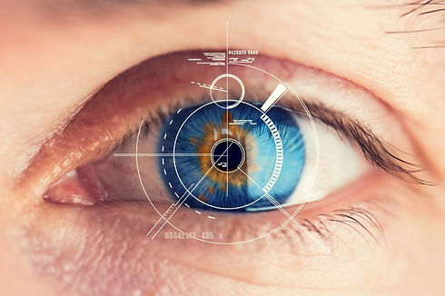 Image of eye and retina