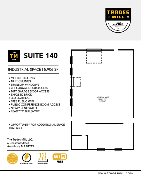 Trades Mill - Suite 140