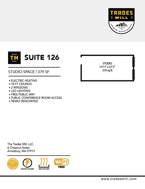 Trades Mill - Suite 126