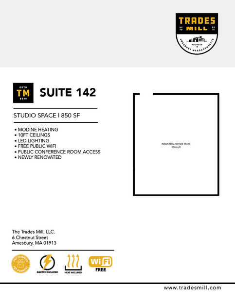 Trades Mill - Suite 142
