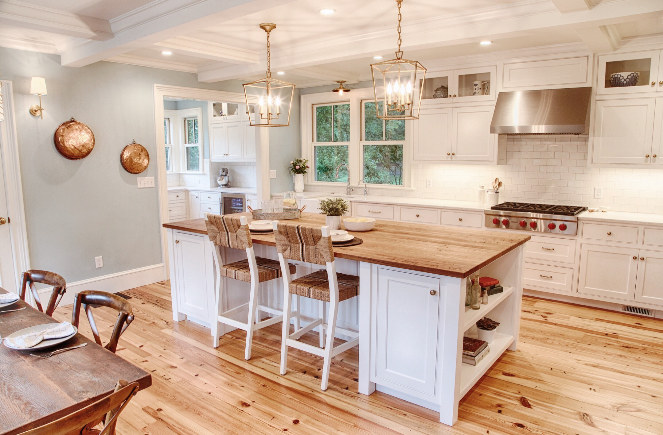 AFTER: Farmhouse Kitchen Remodel