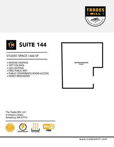 Trades Mill - Suite 144
