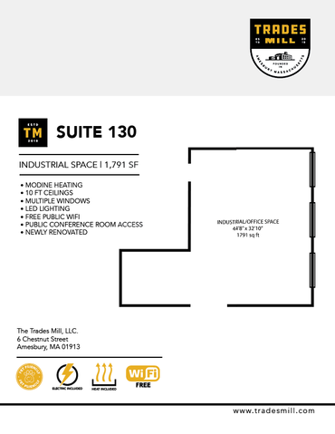 Trades Mill - Suite 130