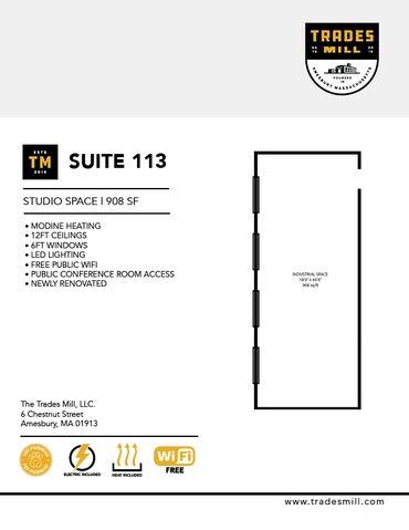 Trades Mill - Suite 113