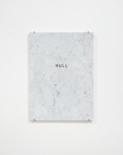 Giulia Marchi, NULL, marmo bianco di Car