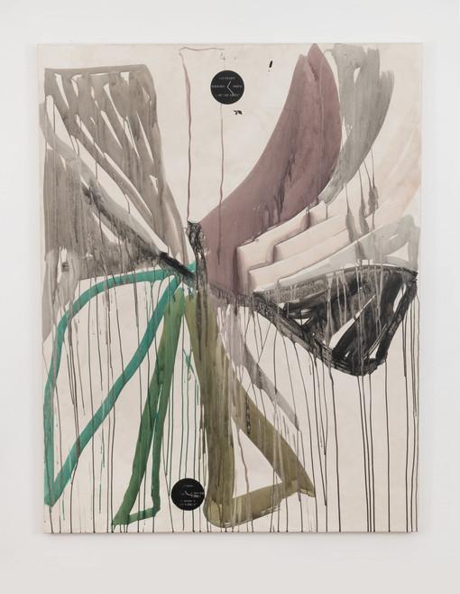 Of the trees, 2019, 180x140cm, acrylic