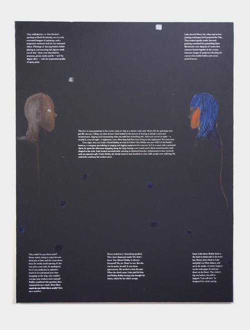 Labors of Luke, 2020, 180x140cm, acryl