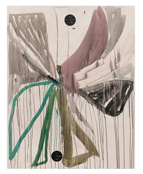 Of the trees, 2019, 180x 140cm, acrylic