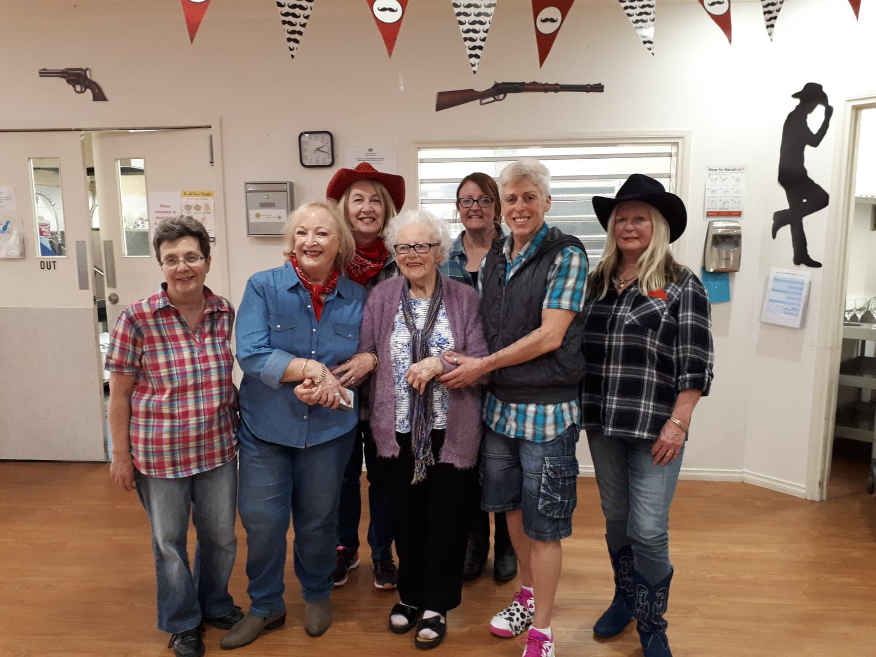 Dot 95 retired from dancing aged 87