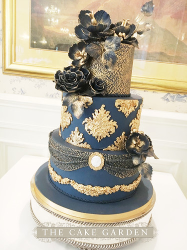 Regal Navy and Gold
