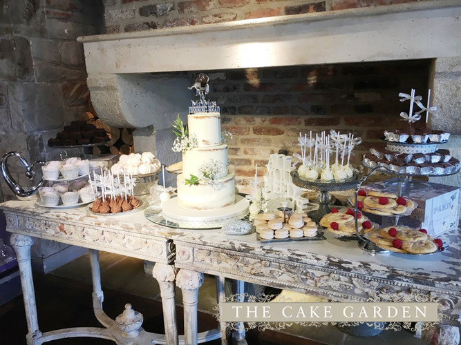 Elegent Dessert Table