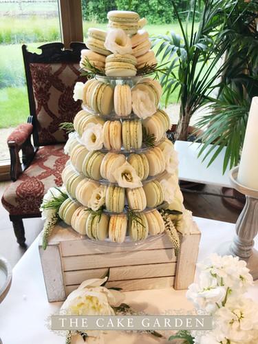 2 Flavour macaron tower