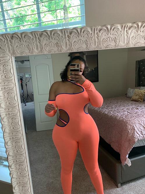 MEET ME AT DA SKATING RINK (orange and blue)