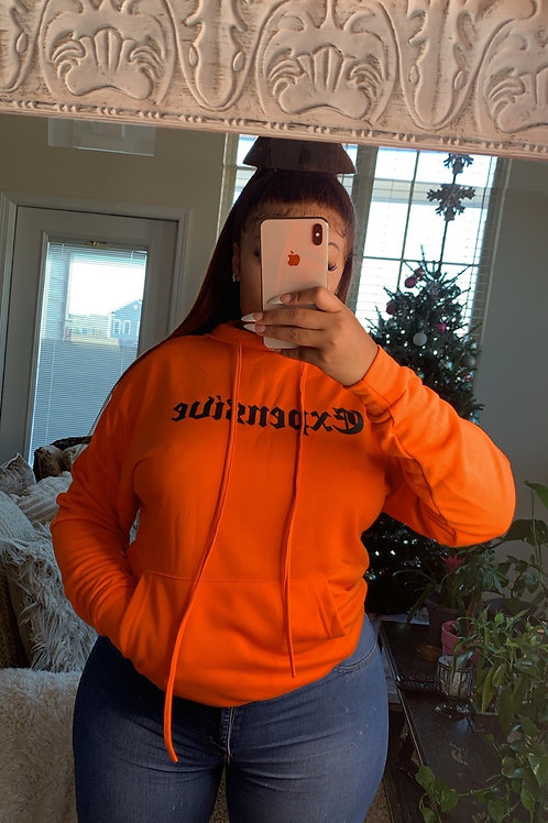 EXPENSIVE HOODIE ORANGE