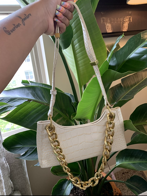 Out For Brunch Bag (cream )