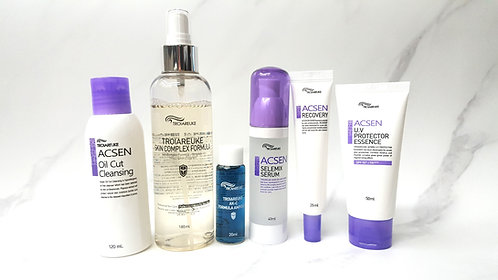 Acne Prone & Sensitive Skin Set (6 Items)