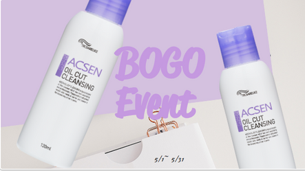 Troiareuke BOGO 1+1 Event - ACSEN Oil Cut Cleansing