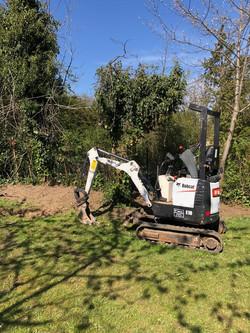 Bobcat E10 Mini Digger