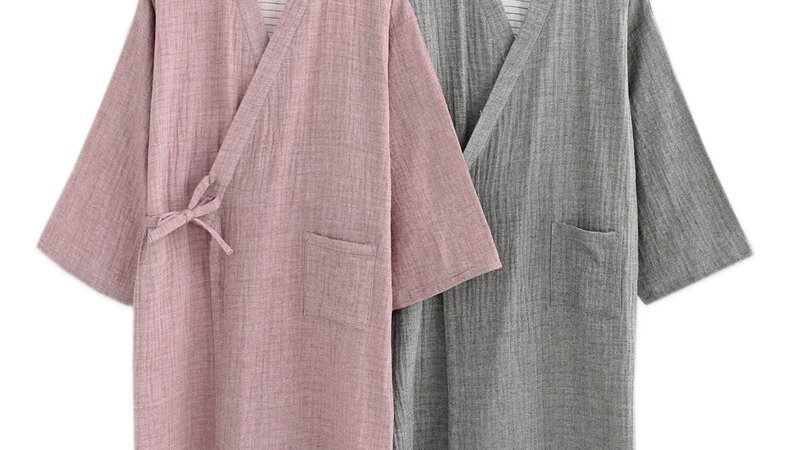 Kimono Cotton Bathrobes